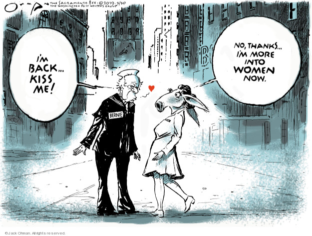 Jack Ohman  Jack Ohman's Editorial Cartoons 2019-02-20 voter