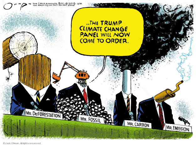 Cartoonist Jack Ohman  Jack Ohman's Editorial Cartoons 2019-02-26 change