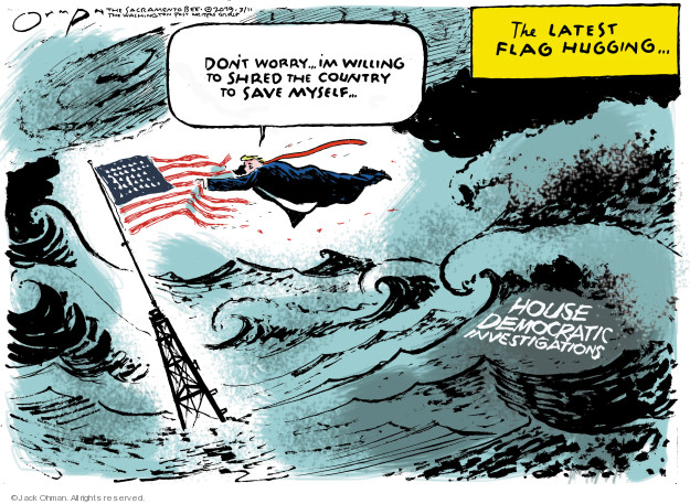 Cartoonist Jack Ohman  Jack Ohman's Editorial Cartoons 2019-03-11 Robert Mueller