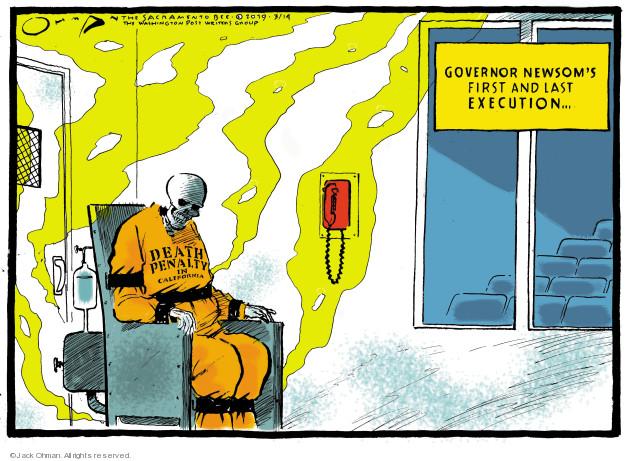 Jack Ohman  Jack Ohman's Editorial Cartoons 2019-03-14 penalty