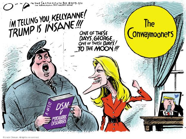 Cartoonist Jack Ohman  Jack Ohman's Editorial Cartoons 2019-03-21 editorial staff