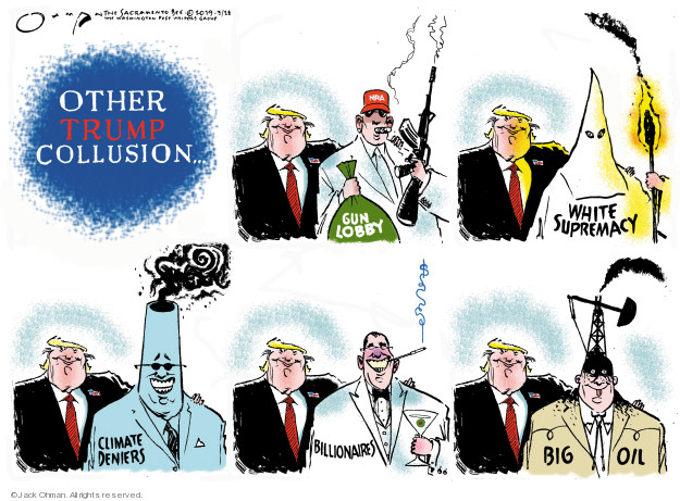 Jack Ohman  Jack Ohman's Editorial Cartoons 2019-03-28 oil