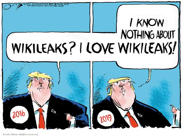 Jack Ohman  Jack Ohman's Editorial Cartoons 2019-04-13 editorial