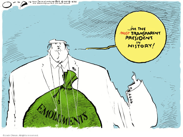 Jack Ohman  Jack Ohman's Editorial Cartoons 2019-04-25 transparent