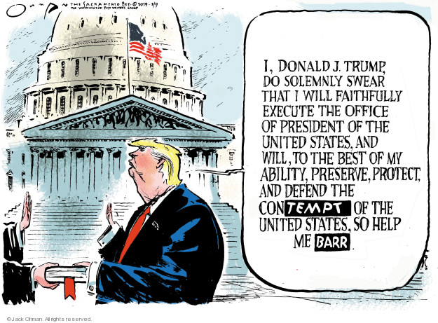 Cartoonist Jack Ohman  Jack Ohman's Editorial Cartoons 2019-05-09 Robert Mueller