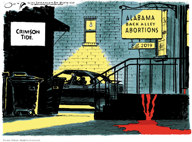 Jack Ohman  Jack Ohman's Editorial Cartoons 2019-05-23 civil rights