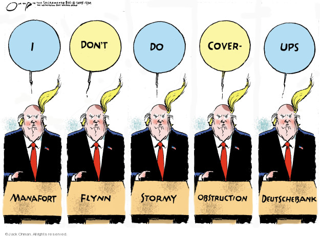Cartoonist Jack Ohman  Jack Ohman's Editorial Cartoons 2019-05-24 Robert Mueller