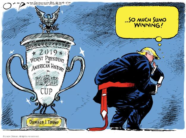 Jack Ohman  Jack Ohman's Editorial Cartoons 2019-05-29 administration