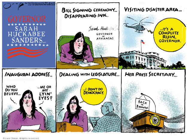 Jack Ohman  Jack Ohman's Editorial Cartoons 2019-06-20 Arkansas