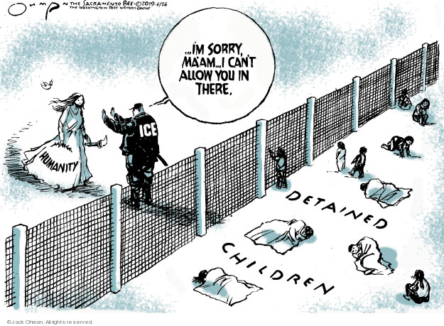 Jack Ohman  Jack Ohman's Editorial Cartoons 2019-06-26 patrol