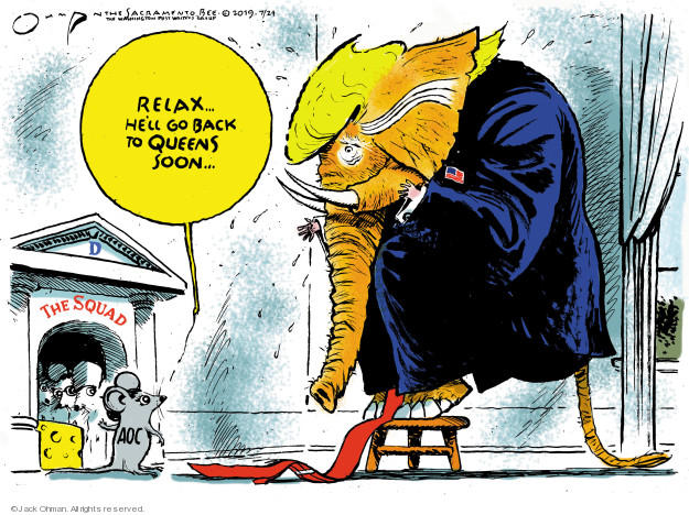 Jack Ohman  Jack Ohman's Editorial Cartoons 2019-07-24 administration