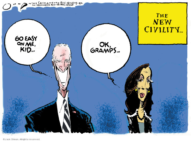 The New Civility … Go easy on me, kid … Ok, gramps …