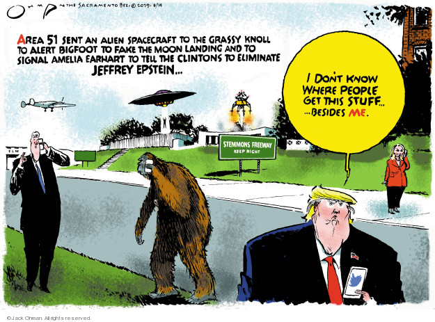 Jack Ohman  Jack Ohman's Editorial Cartoons 2019-08-14 sexual