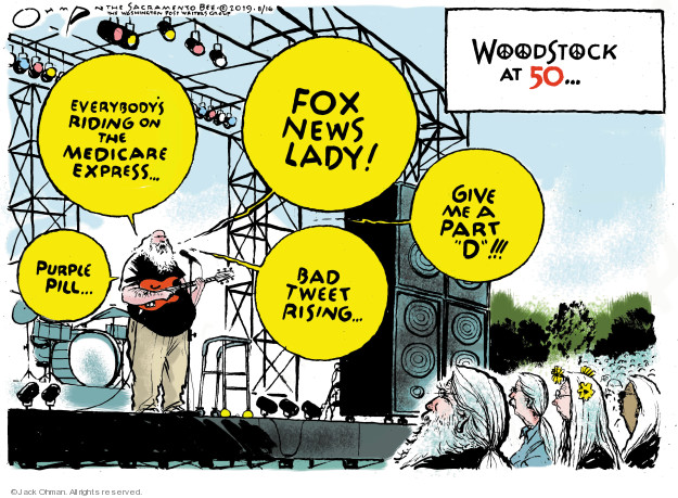 Jack Ohman  Jack Ohman's Editorial Cartoons 2019-08-16 ride