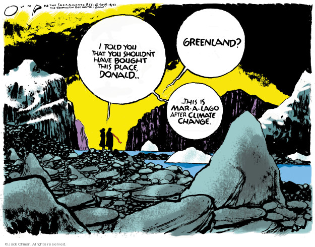 Cartoonist Jack Ohman  Jack Ohman's Editorial Cartoons 2019-08-21 Florida