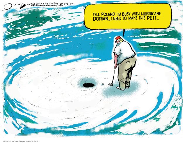 Jack Ohman  Jack Ohman's Editorial Cartoons 2019-09-05 international war