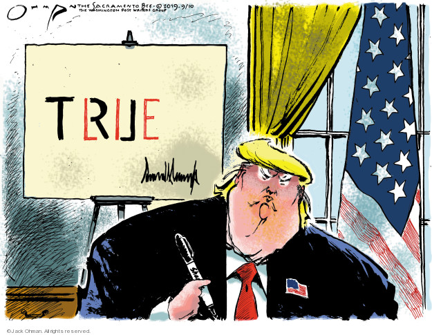 Cartoonist Jack Ohman  Jack Ohman's Editorial Cartoons 2019-09-10 house