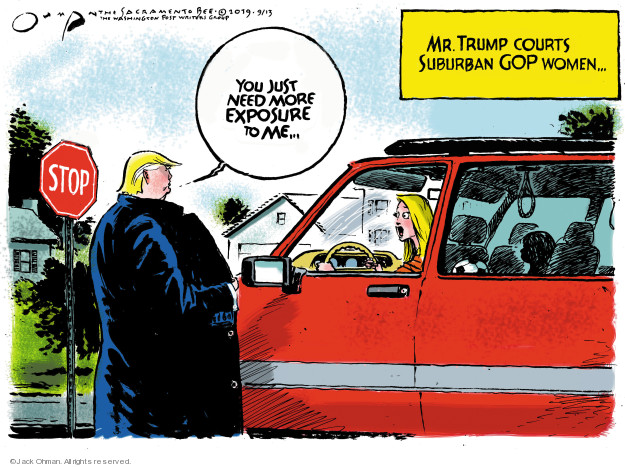 Jack Ohman  Jack Ohman's Editorial Cartoons 2019-09-13 voter