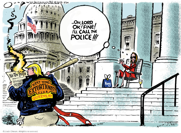 Cartoonist Jack Ohman  Jack Ohman's Editorial Cartoons 2019-09-24 house
