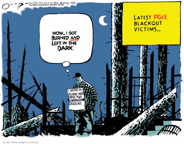 Jack Ohman  Jack Ohman's Editorial Cartoons 2019-10-10 California