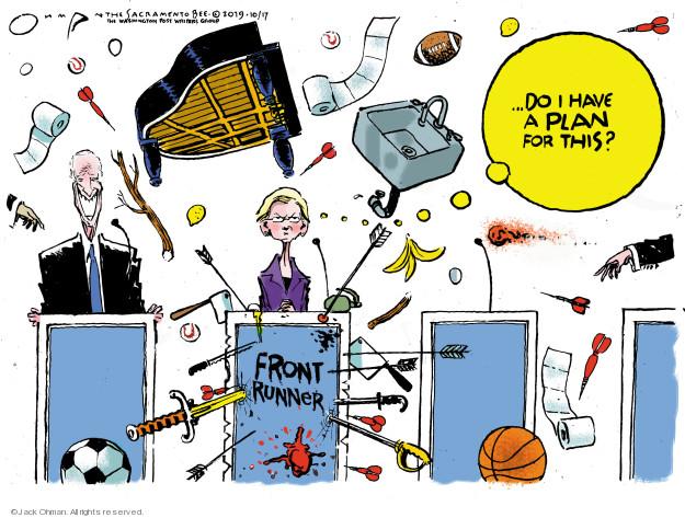 Jack Ohman  Jack Ohman's Editorial Cartoons 2019-10-17 2020 election
