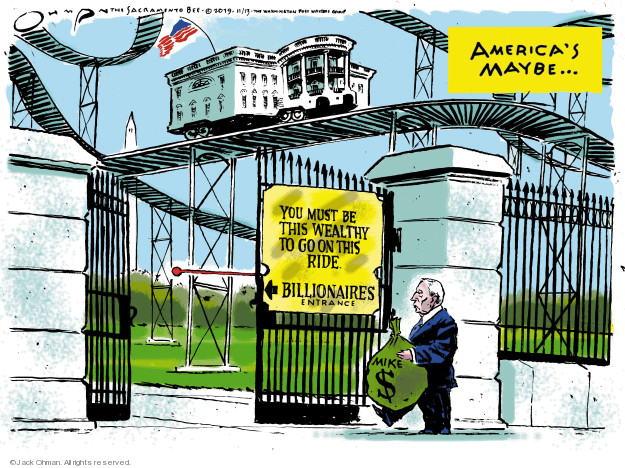 Cartoonist Jack Ohman  Jack Ohman's Editorial Cartoons 2019-11-13 white