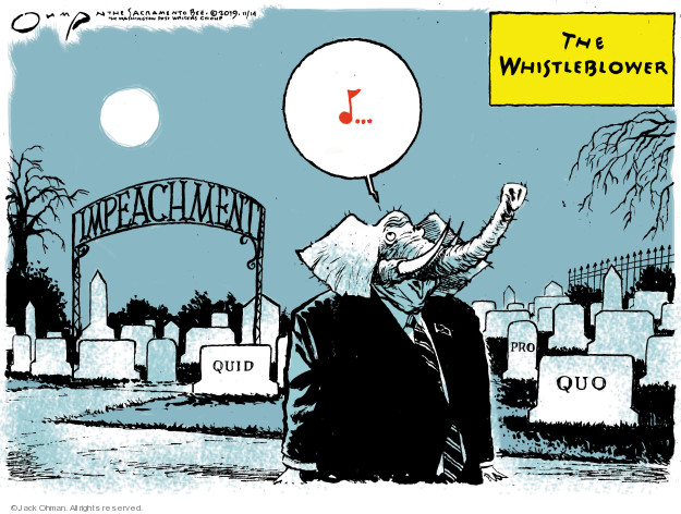 Cartoonist Jack Ohman  Jack Ohman's Editorial Cartoons 2019-11-14 GOP