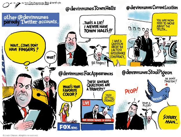 Jack Ohman  Jack Ohman's Editorial Cartoons 2019-12-01 media