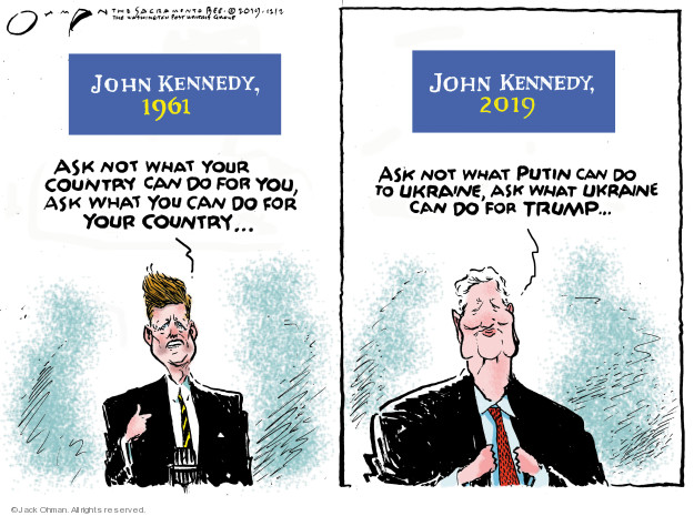 Cartoonist Jack Ohman  Jack Ohman's Editorial Cartoons 2019-12-03 GOP
