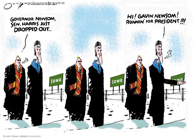 Cartoonist Jack Ohman  Jack Ohman's Editorial Cartoons 2019-12-04 2020 election