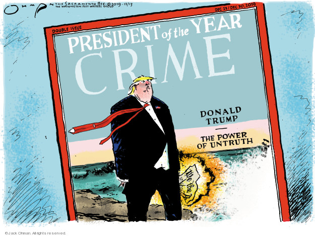 President of the Year. Crime. Donald trump. The Power of Untruth. We the P …