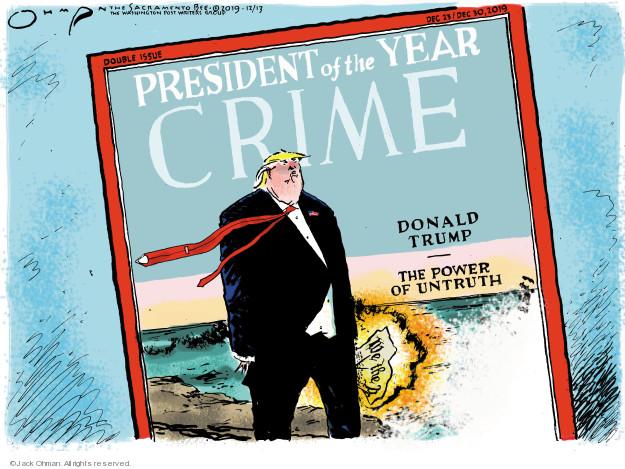 Jack Ohman  Jack Ohman's Editorial Cartoons 2019-12-13 Constitution