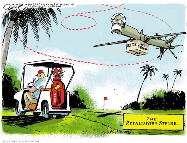 Cartoonist Jack Ohman  Jack Ohman's Editorial Cartoons 2020-01-07 scandal