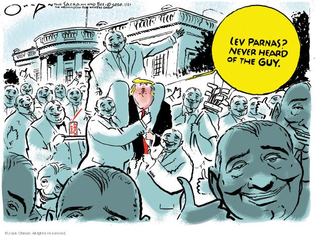 Cartoonist Jack Ohman  Jack Ohman's Editorial Cartoons 2020-01-21 scandal