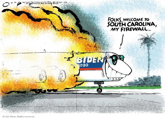 Cartoonist Jack Ohman  Jack Ohman's Editorial Cartoons 2020-02-12 2020 election