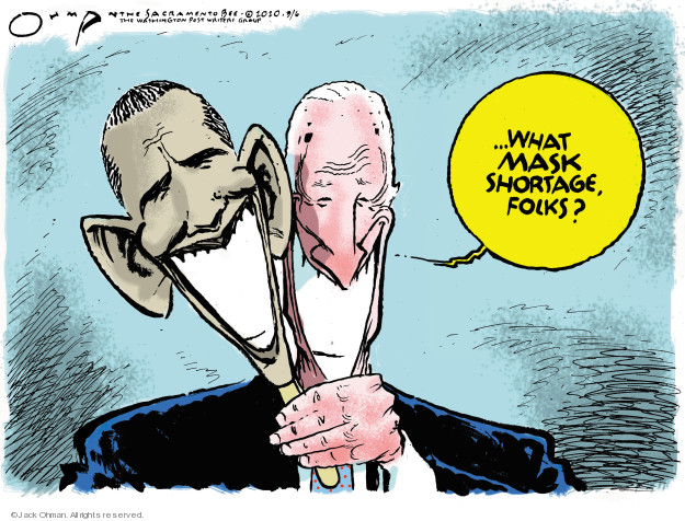Jack Ohman  Jack Ohman's Editorial Cartoons 2020-03-06 Obama Biden