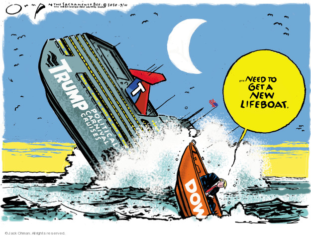 Cartoonist Jack Ohman  Jack Ohman's Editorial Cartoons 2020-03-10 editorial