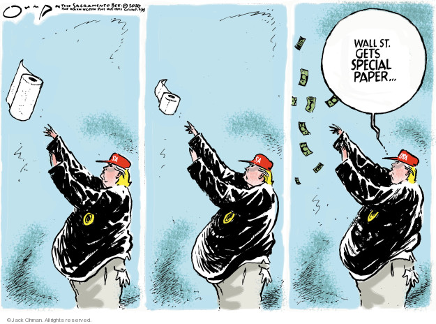 Jack Ohman  Jack Ohman's Editorial Cartoons 2020-03-19 administration
