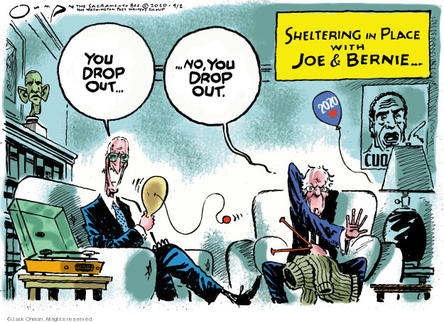 Cartoonist Jack Ohman  Jack Ohman's Editorial Cartoons 2020-04-02 2020 election