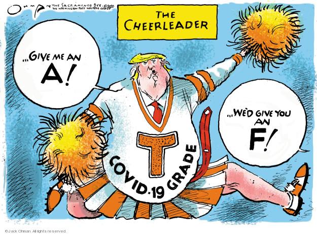 Jack Ohman  Jack Ohman's Editorial Cartoons 2020-04-09 illness