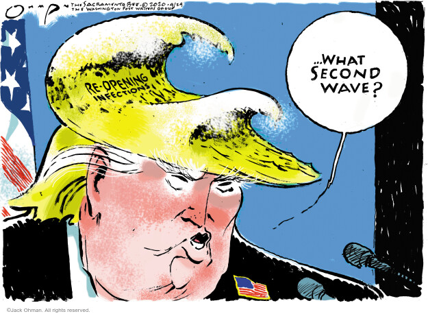Cartoonist Jack Ohman  Jack Ohman's Editorial Cartoons 2020-04-24 coronavirus