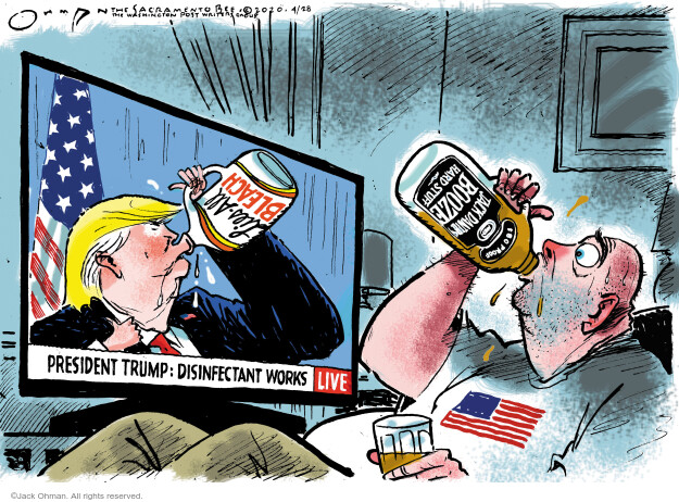 Jack Ohman  Jack Ohman's Editorial Cartoons 2020-04-28 Donald Trump