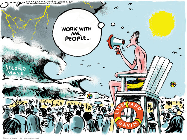 Jack Ohman  Jack Ohman's Editorial Cartoons 2020-05-03 California