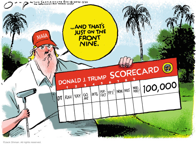 Jack Ohman  Jack Ohman's Editorial Cartoons 2020-05-26 virus