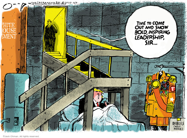 Jack Ohman  Jack Ohman's Editorial Cartoons 2020-06-03 Donald Trump