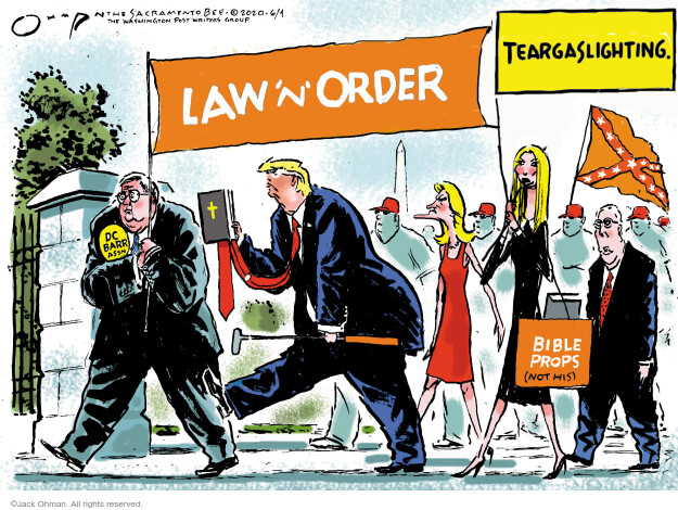 Jack Ohman  Jack Ohman's Editorial Cartoons 2020-06-04 Donald Trump