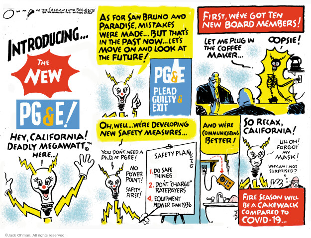 Jack Ohman  Jack Ohman's Editorial Cartoons 2020-06-21 California