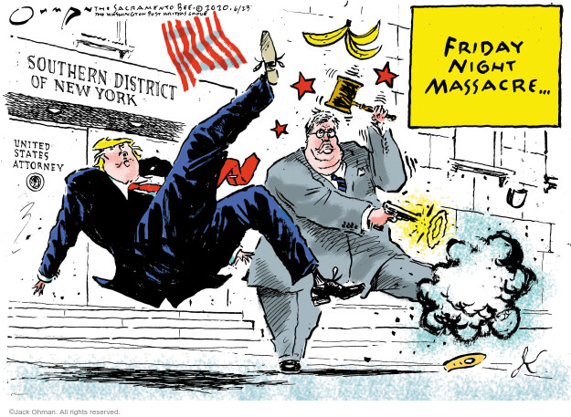 Jack Ohman  Jack Ohman's Editorial Cartoons 2020-06-23 Trump administration