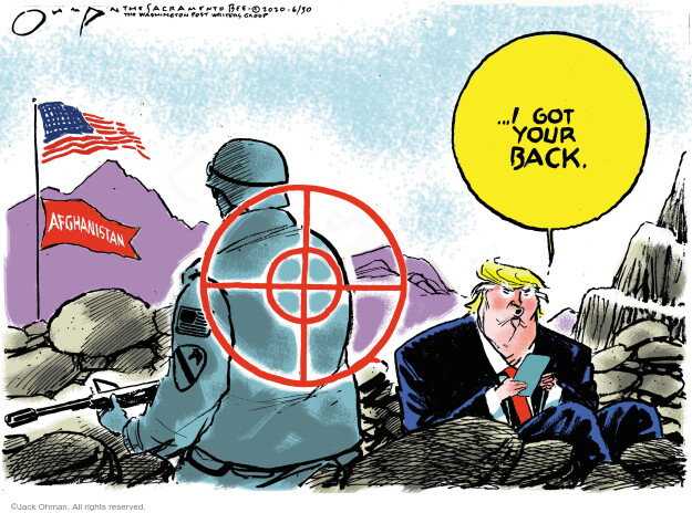 Jack Ohman  Jack Ohman's Editorial Cartoons 2020-06-30 Trump administration