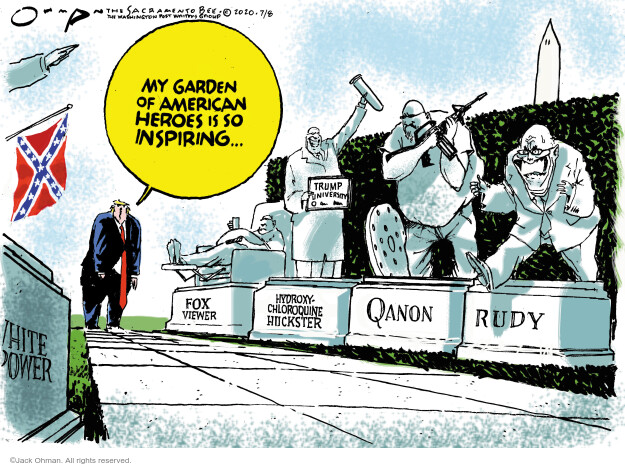 Jack Ohman  Jack Ohman's Editorial Cartoons 2020-07-08 editorial